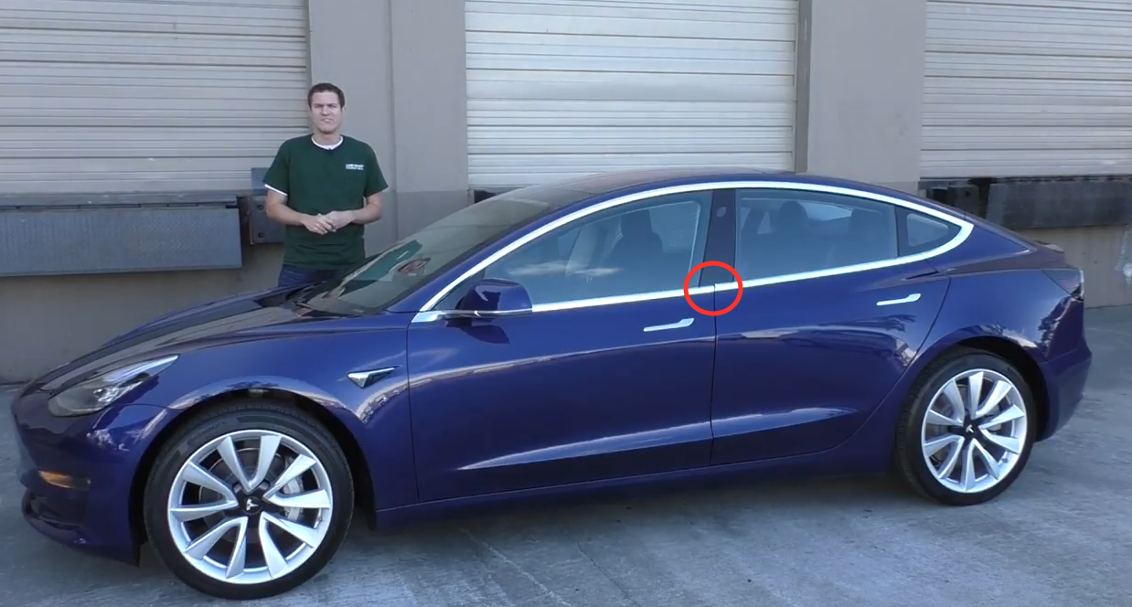 Tesla Model 3 - this really bugs me